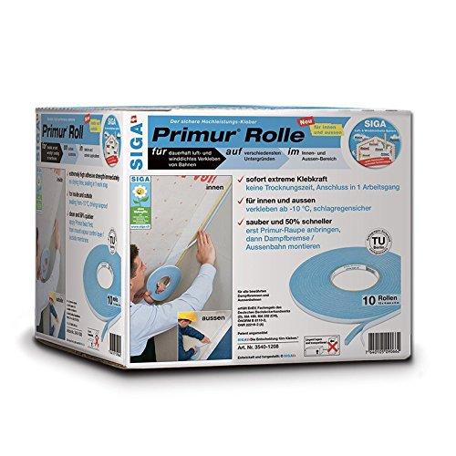 Siga Primur Raupe auf Rolle 12 x 4 mm x 8 m
