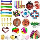 mUj1 36Pc Fidget Toy Packs, Set De Juguetes Sensoriales Fidget Baratos,para Sensory Toy Box para Niños Adultos/Autismo Regalo/Fiesta Navidad Cumpleaños