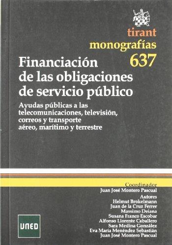 Financiación de las obligaciones de servicio público