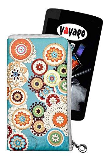 yayago Tasche für Coolpad Torino S Hülle Motiv Spring mit Reißverschluss