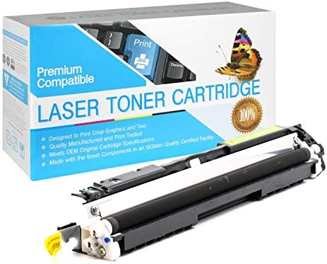 USA Advantage Compatible Toner Cartridge Replacement for HP 130A CF350A Black 1 Pack product image