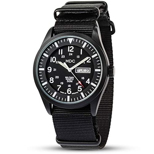 Mens Military Waterproof Watch Men's, Army Analogue Wrist Watches for Men,...