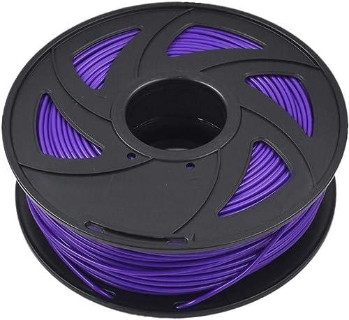 lowest ABS 3D Printer Filament - 2.20 lb (1KG) lowest The Diameter of 3.00 mm, Dimensional Accuracy ABS Multiple Color 2021 (Purple) outlet sale