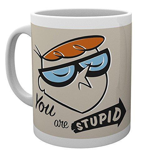 GB eye LTD, El Laboratorio de Dexter, Eres un estúpido, Taza