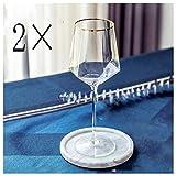 YCKZZR Set De Copas De Vino Tinto Banquetes De Banquetes De Catering Comercial Copas De Vino para Un Vino De Gran Sabor Cristalería De Tallo Largo Juego De 2,A