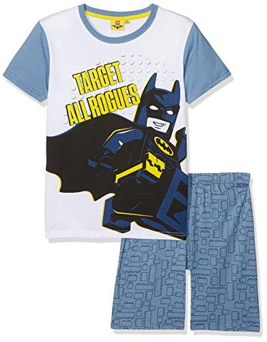 LEGO Mädchen 79210 Zweiteiliger Schlafanzug, Blau (Blaugelb), 8 Jahre