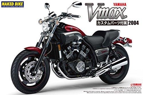 Yamaha Vmax (W/custom Parts) 1/12 (Model Car) By Aoshima