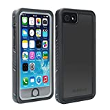 Abbicen Waterproof Case for iPhone 7 and 8 Phone iPhone SE 2020 Case with Kickstand Full Body Protective Case Cover with Built-in Screen Protector Underwater/Shockproof/Dirtproof/Snowproof.