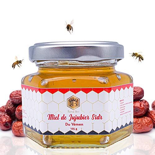 Miel de jujubier Sidr du Yémen -125 g -+ 1 Cuillère en bois