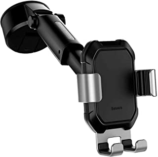 Baseus Tank gravity car mount holder with suction base Silver