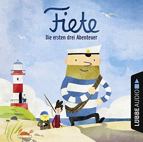 Fiete - Die ersten drei Abenteuer: Das versunkene Schiff - Die große Fahrt - Das verrückte Rennen. (Fiete-Bilderbuch)