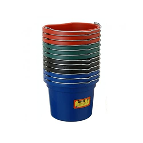 Tough 1 Blue lot of 4 plastic security bucket holders