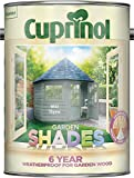 Cuprinol CUPGSWIL5L 5 Litre Garden Shades Paint - Willow