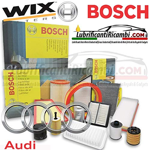 Tecneco Kit filtre huile et air wix carburant bosch habitacle WIX 4 filtres mixtes WL7296 ou wl7476, f026402068, WA9580, WP9328