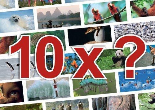 10er-Set: Postkarten PANORAMA +++ MIX SET von modern times +++ TOP für POSTCROSSING: 10 tolle XXL-Motive +++ ohne deutschen Text
