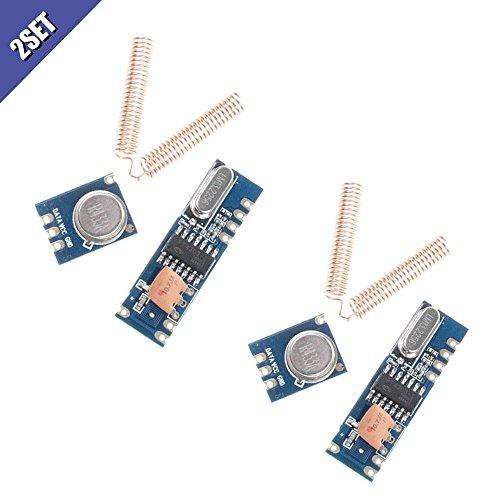 2.4GHz Antenna Wireless Transceiver Module Bestol 5PCS NRF24L01
