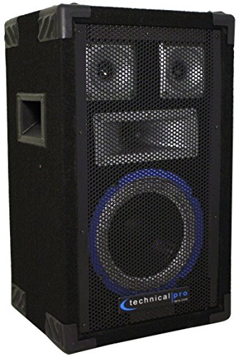 Technical Pro 8 Inch 4-way Carpeted Speaker
