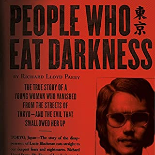 People Who Eat Darkness audiobook cover art