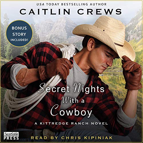 Secret Nights with a Cowboy Audiobook By Caitlin Crews cover art
