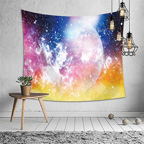 wandbehang Tapisserie Galaxy Stil Wohnzimmer dekor Teppich werfen Yoga Matte Schlafsack Reise Sandstrand Teppich 4 150x230cm