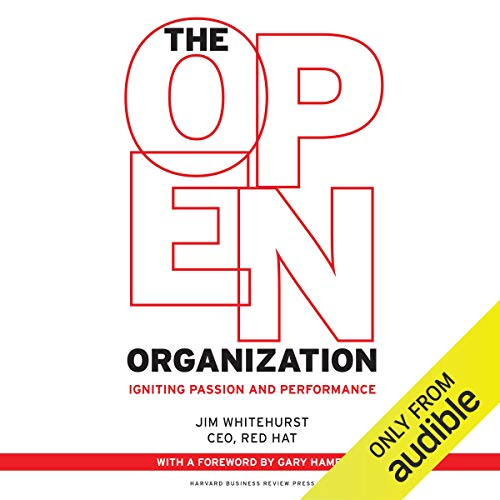 Couverture de The Open Organization