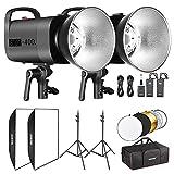 Neewer Flash Estroboscópico Kit de Luz Estudio Fotográfico y Iluminación...