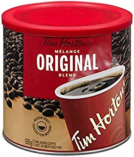 Tim Hortons Coffee Melange Original Blend 930g Direct from Canada,Red