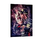 ASDQA Sebastian Vettel Poster, dekoratives Gemälde,