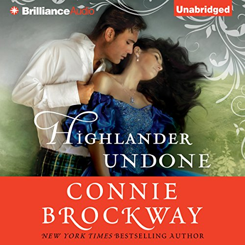 Highlander Undone audiobook cover art