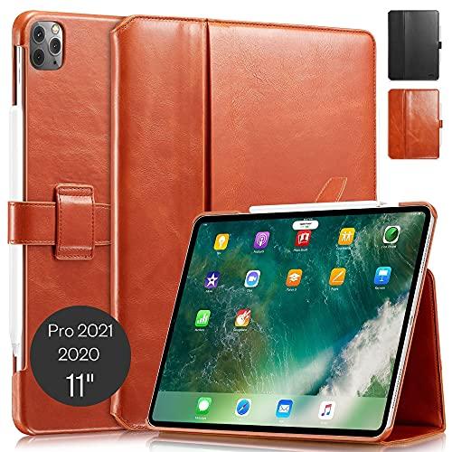 KAVAJ Lederhülle London geeignet für Apple iPad Pro 11