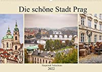 Die schoene Stadt Prag (Wandkalender 2022 DIN A2 quer): Hauptstadt Tschechiens an der Moldau (Monatskalender, 14 Seiten )