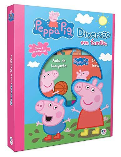 Peppa Pig - Diversão em família: Com 6 mini livros