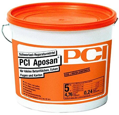 PCI APOSAN Schwerlast Reparaturmörtel 5kg Metall-Flasche