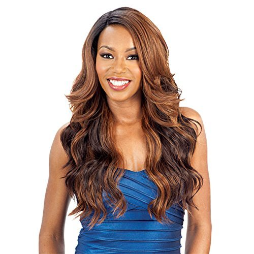 Model Model Deep Invisible L Part Lace Front Wig - ALPINE MEADOW (2 Dark Brown)