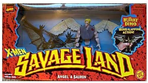 X-Hommes Savage Land Angel and Sauron by X Hommes