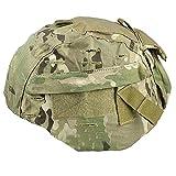 Worldshopping4U ATAIRSOFT Emerson - Funda para casco táctico militar MICH 2000 Ver2/ACH con bolsillo trasero (MC)