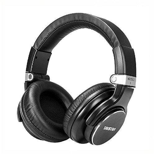 Takstar HD5500 Monitors Studio Headphones Dynamic 1000mW Powerful DJ Headset Foldable Over Ear Rotatable Ear Cups