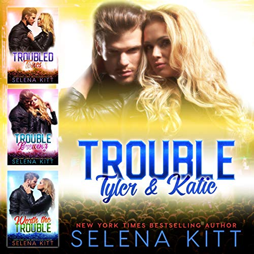 Trouble: Tyler and Katie audiobook cover art