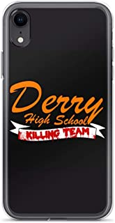 Derry High IT The Horror Movie Pennywise Halloween The Clown Clear Shockproof for iPhone XR