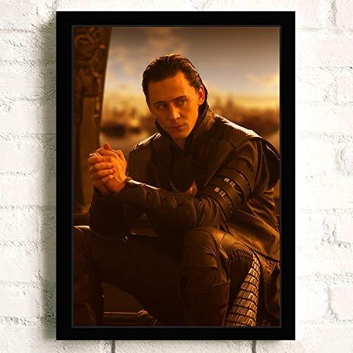 h-p Tom Hiddleston (Tom Hiddleston) Película HD Lienzo Arte Pintura Al Óleo...