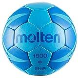 Molten Ballon DE Handball HX1800 2019-20 (Taille 3, Diva Blue/Roy)