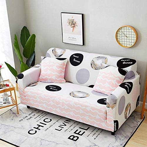 Topashe Funda sofá Duplex,Funda de sofá elástica, Funda de sofá Antideslizante-D_235-300cm,elástico Tejido Protector por sofá Funda