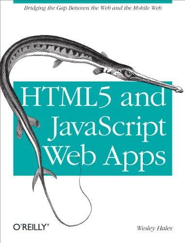 html5 and javascript web apps - 2