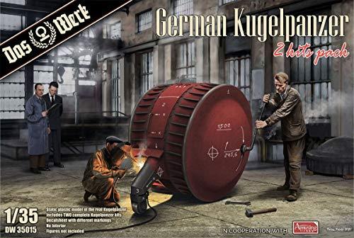 Das Werk DW35015 German Kugelpanzer-2 Kits Pack 1:35