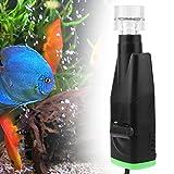 AMONIDA Diseño eléctrico 220-240V EU Plug Elastric Surface Mini Skimmer de Aceite, Skimmer de Aceite de Superficie, Acuario para pecera