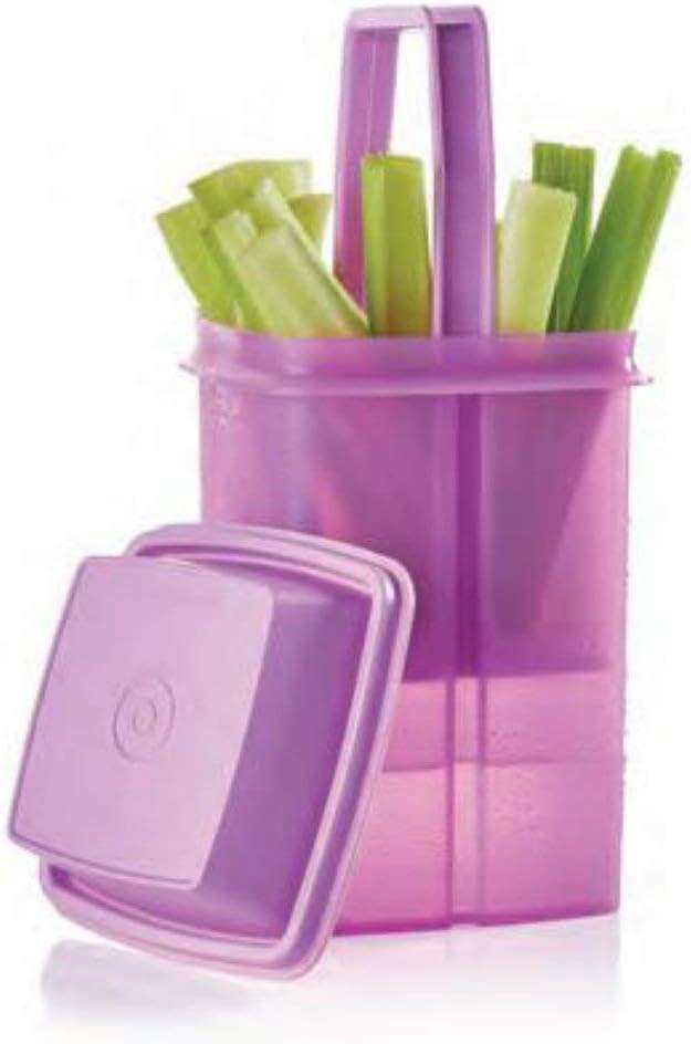 Tupperware Picadilli Condiment Container Topics on mart TV Square Deli