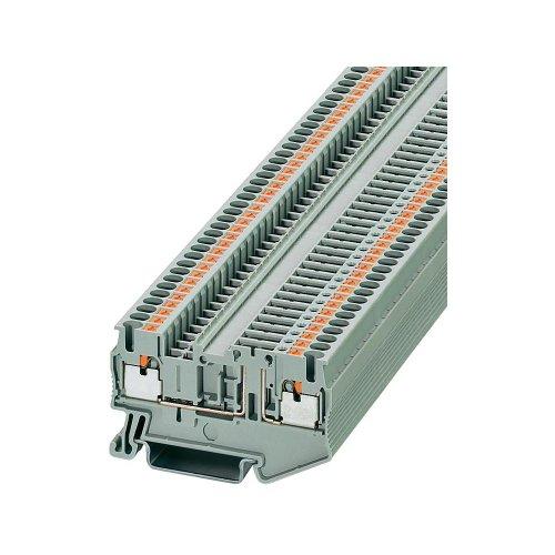 Phoenix 3210185 Grau Anschlussblock - Anschlussblöcke (5,2 mm, 62 mm, 400 V)