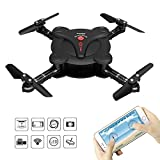 RC Quadcopter Drone with FPV Camera Live Video - 2 Batteries -...