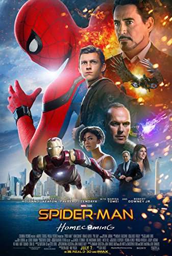 Spider-Man Homecoming Movie Poster Limited Print Photo Tom Holland, Michael Keaton, Robert Downey Jr. Size 27x40#1