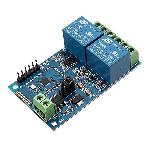 BliliDIY Dc12V Relè Bluetooth A 2 Canali Interruttore Iot Smart Home App Telecomando